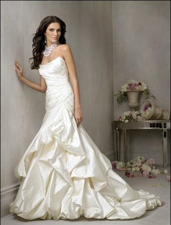 Mermaid style wedding dresses enter your blog name here for Wedding dresses mermaid cut