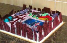 kek ultraman 4 thn