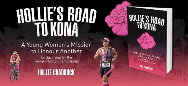My book; Hollie's Road to Kona