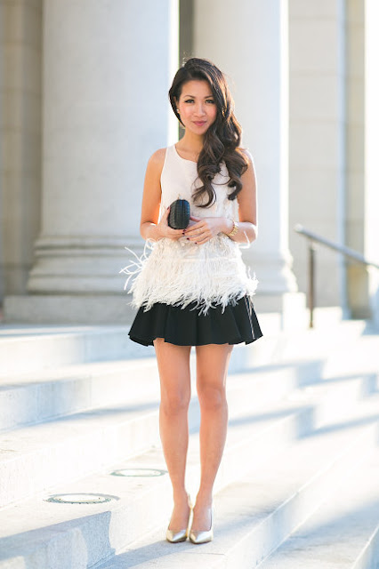 What to wear tor New Year's Eve, dressed up outfit inspiration