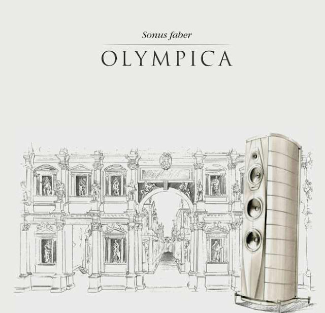 mono and stereo high end audio magazine new sonus faber olympica speakers. Black Bedroom Furniture Sets. Home Design Ideas
