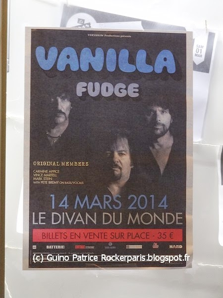 Rockerparis vanilla fudge divan du monde paris march for Divan du monde