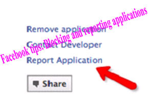 Facebook tips: Blocking and reporting applications