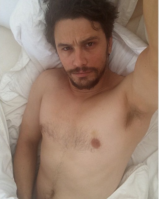 James Franco super sexy desnudo