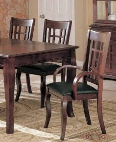 7pc formal dining table chairs