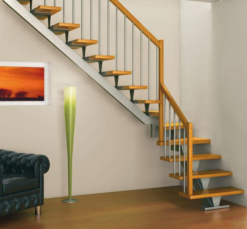Staircase decorating ideas with modern design  My