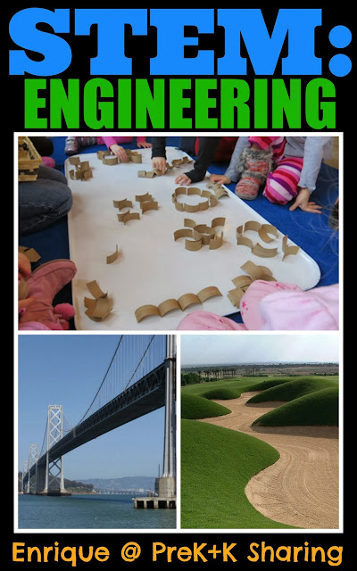 STEM: Engineering Introduction for PreK+K Sharing