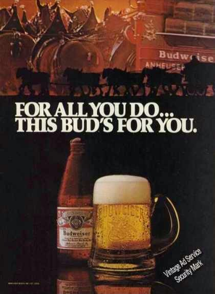 Budweiser   This Budu0027s For You