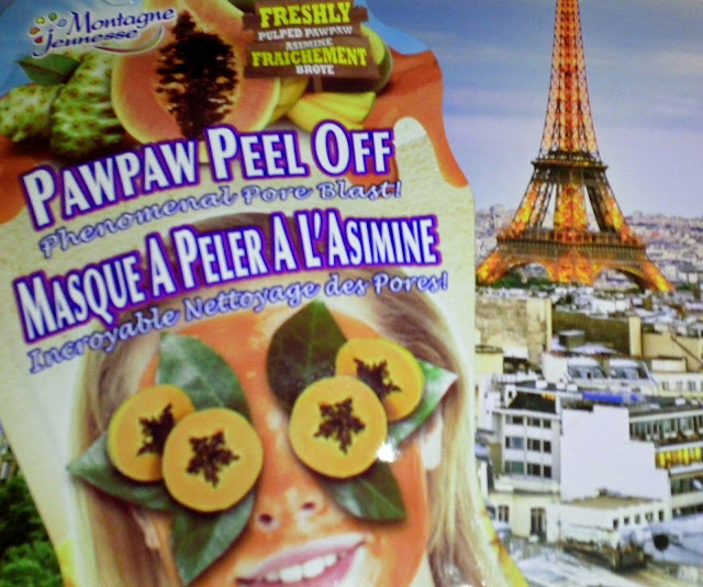 Montagne Jeunesse Pawpaw Peel Off Face Mask