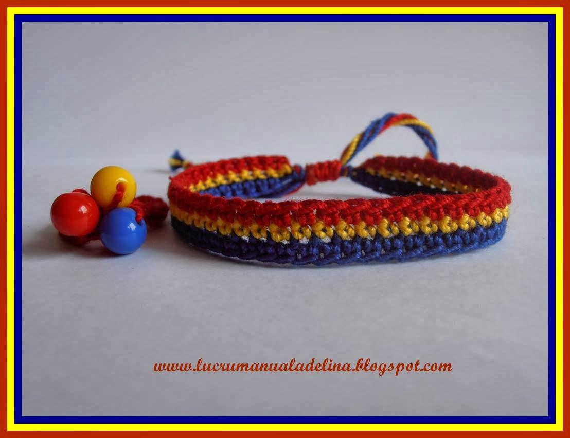 Bratara tricolor