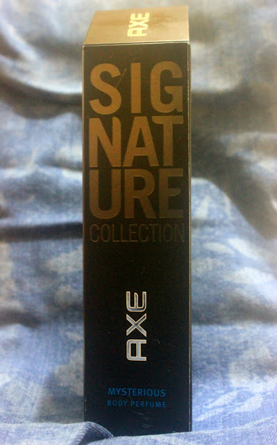 Axe Signature Collection Mysterious Body Perfume Review
