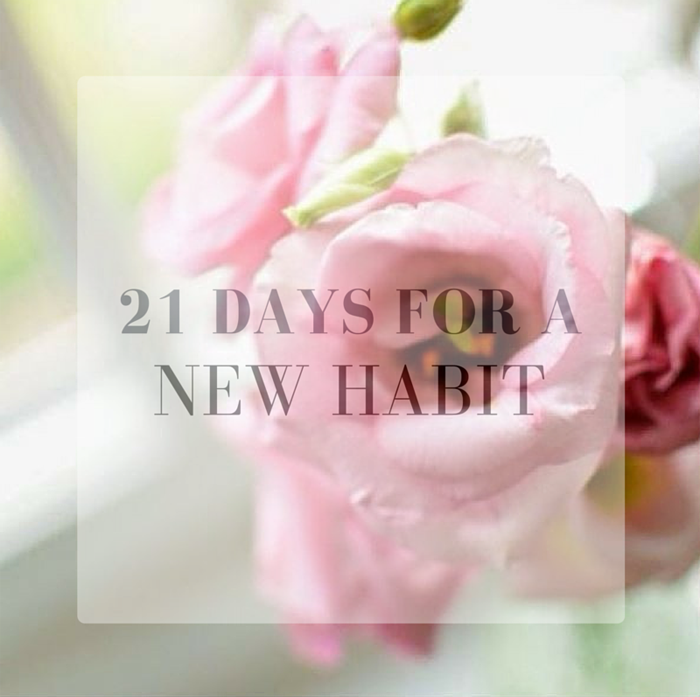 21 DAYS FOR A NEW HABIT LAMOURDEJULIETTE MOTIVATIONAL BLOGS