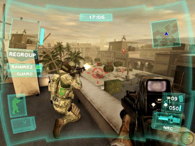 Tom clancy's ghost recon advanced warfighter xbox