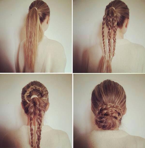 Three Step by Step Hair Style Turorials