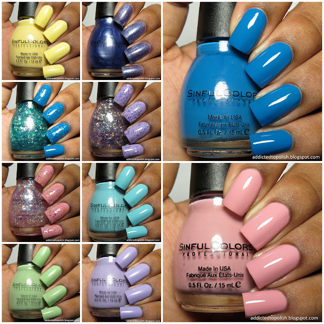 sinful colors a class act collection back to school