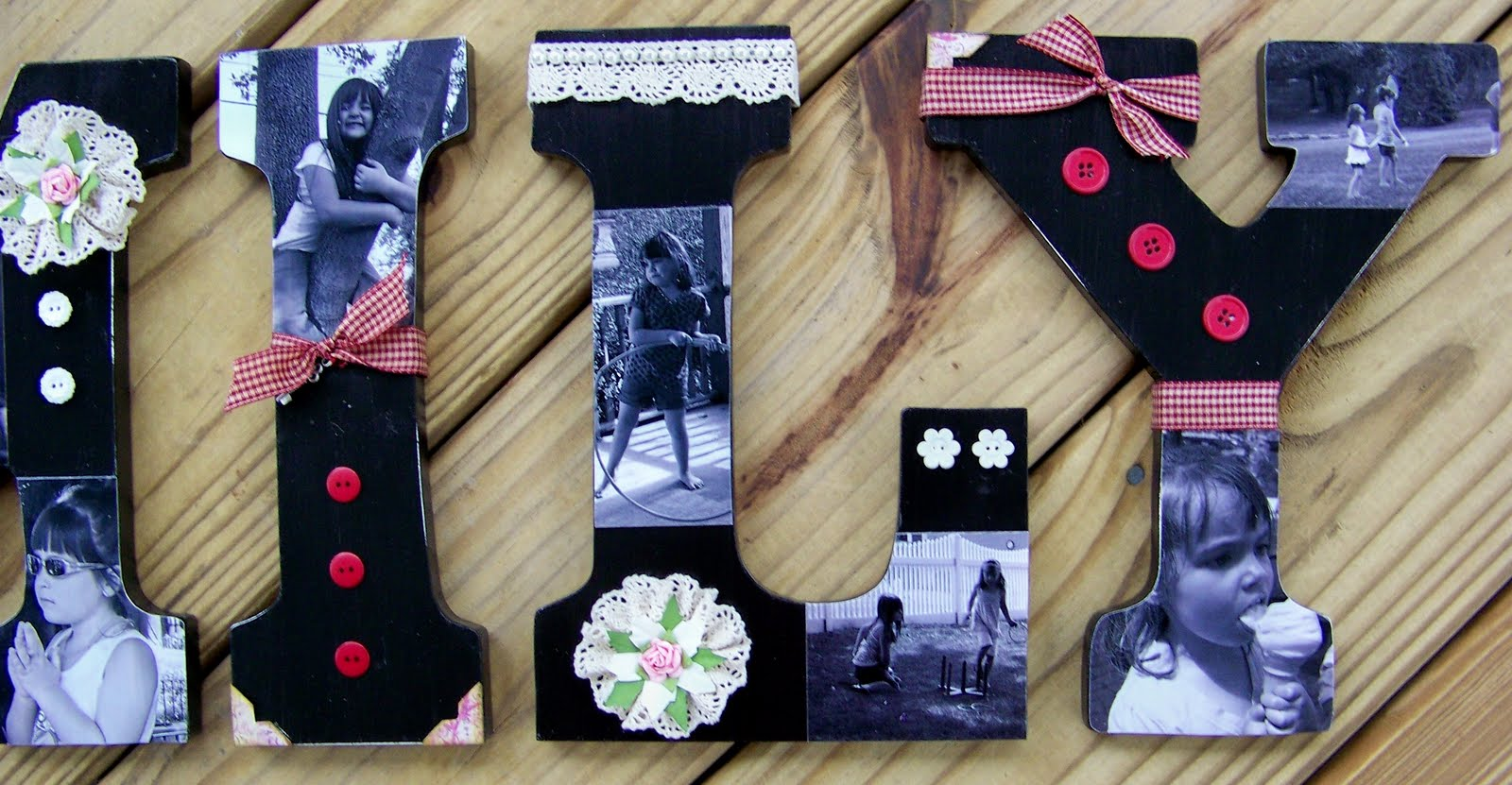 Decoupage Wooden Letters Need Your Wooden Letters i