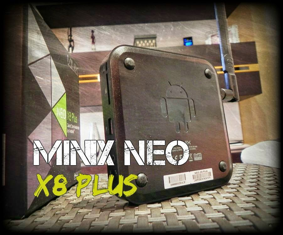 MINIX NEO X8 Plus - Review
