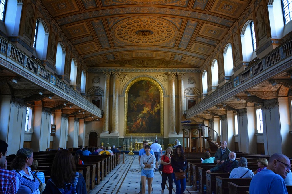 Chapel Royal Naval College Greenwich