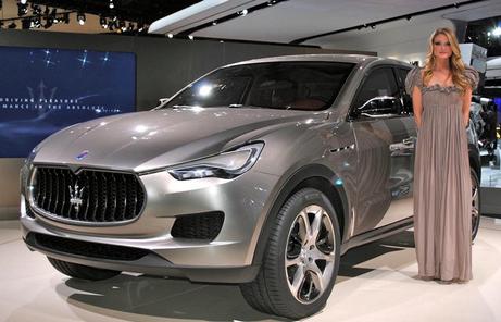 2016 Maserati Levante SUV Release Date