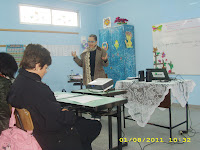 Oficina de Educação Patrimonial aos profs da rede Municipal. Ministrada pela Prof.Ms Ângela Ribeiro