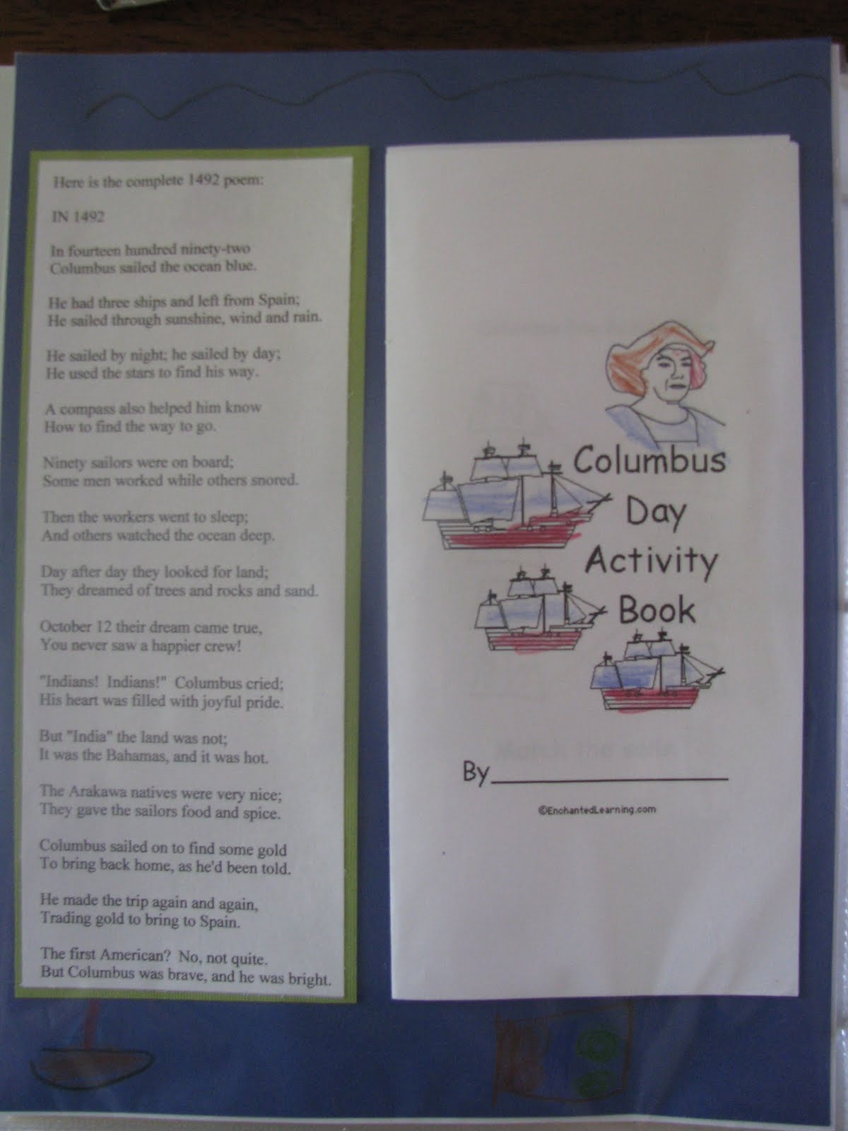 week 2 christopher columbus and other highlights home with us