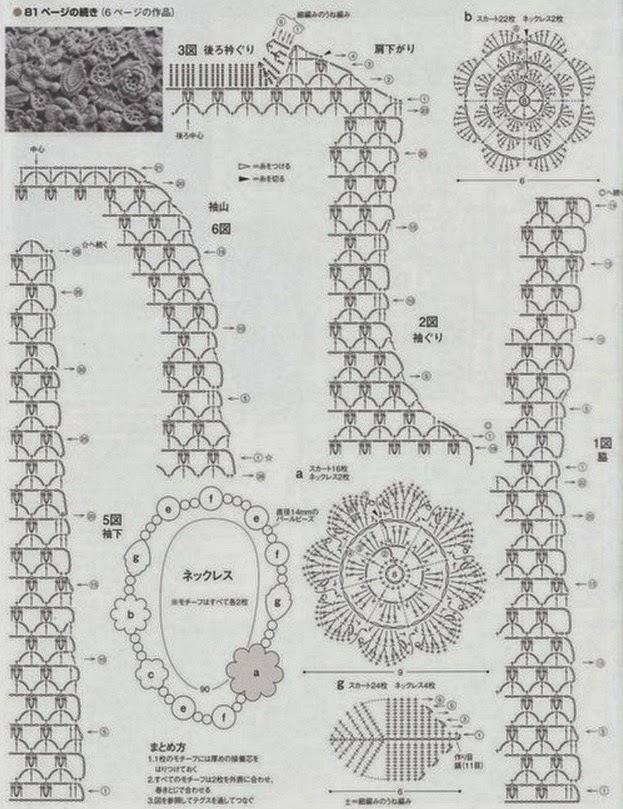 Необыкновенно женственный и элегантный комплект в технике ирландского кружева