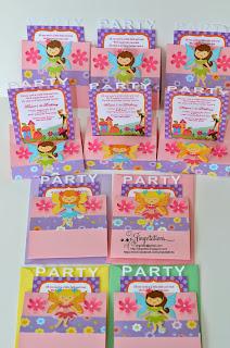 tinkerbell pixie_hollow fairy birthday invitations