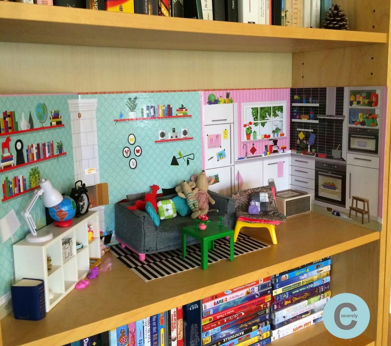 les f nt isies de cocorely maison de poup e patron pour housse de mini canap diy. Black Bedroom Furniture Sets. Home Design Ideas