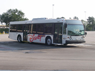 walt disney world buses