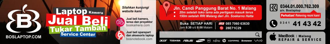 Laptop Bekas - Laptop Second - Laptop Malang - Servis Laptop