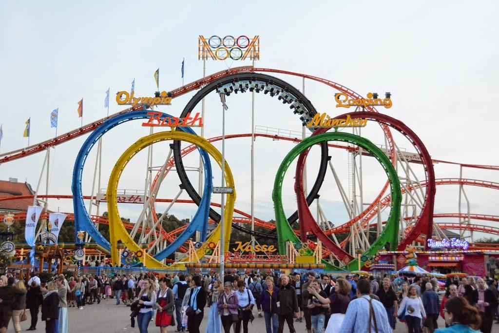 Oktoberfest Carnival 2014 Olympic Coaster