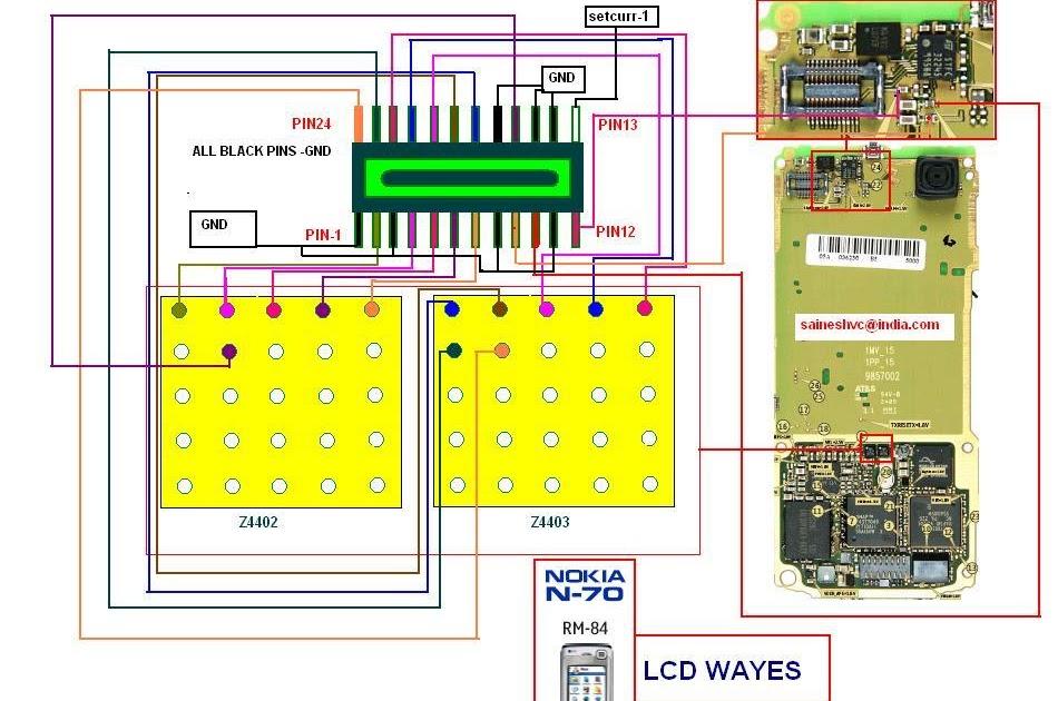 Cellfirmware  Nokia N72 Lcd Display Solution Lcd Repairing Lcd Dim Light Solution