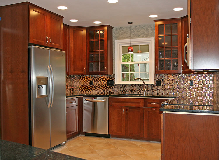 Galley kitchen design ideas image