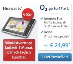 Huawei S7 bei sparhandy effektiv für 79,99 Euro