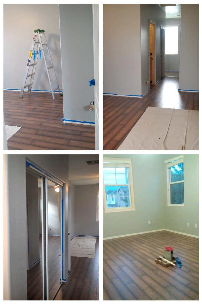 Focal point styling moving or renting interior painting tips - Open closets small spaces paint ...