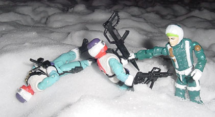 1993 Sub Zero, Arctic Commandos, Mail Away, Snow Serpent