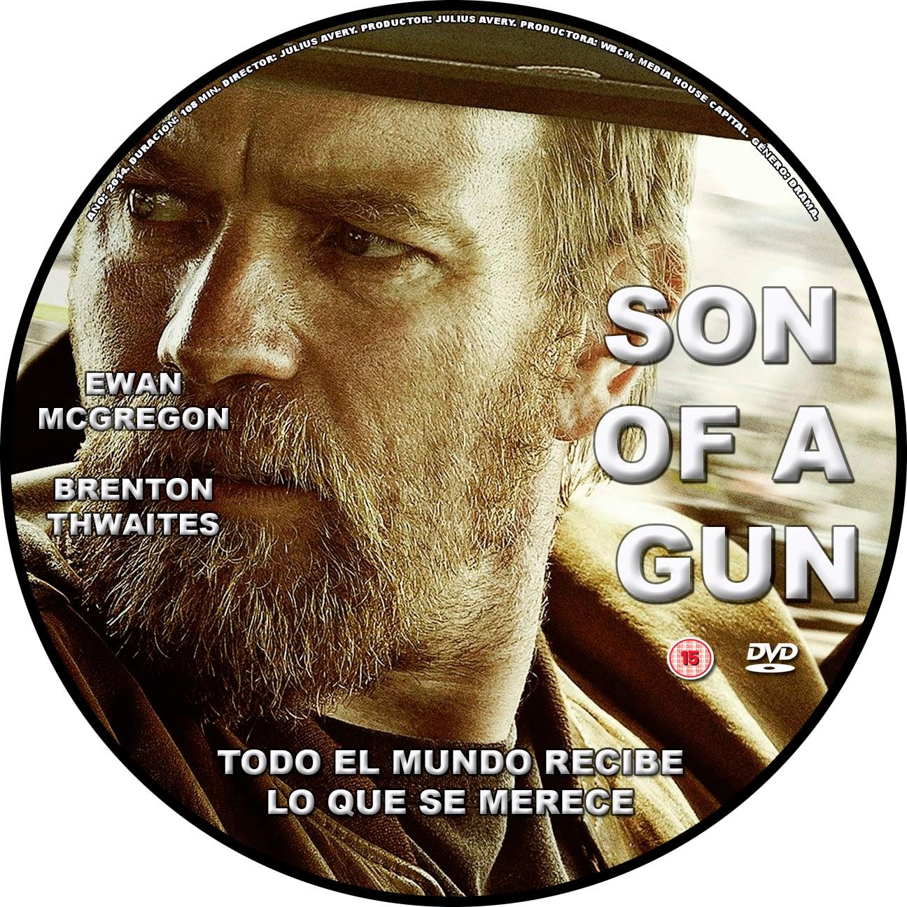 DVD Cover / Caratula FREE: SON OF A GUN - CD COVER