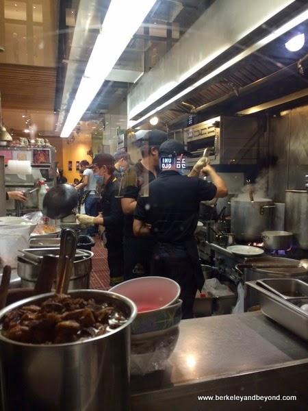 kitchen at Bangkok Noodles & Thai B.B.Q. in San Francisco