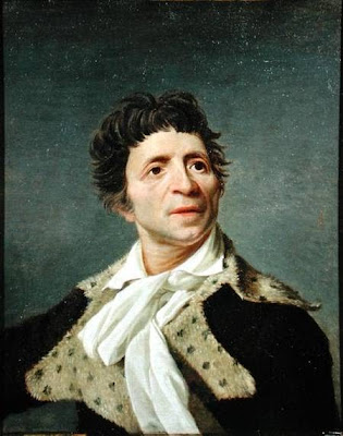 Portrait of Jean Paul Marat by Joseph Boze, 1793
