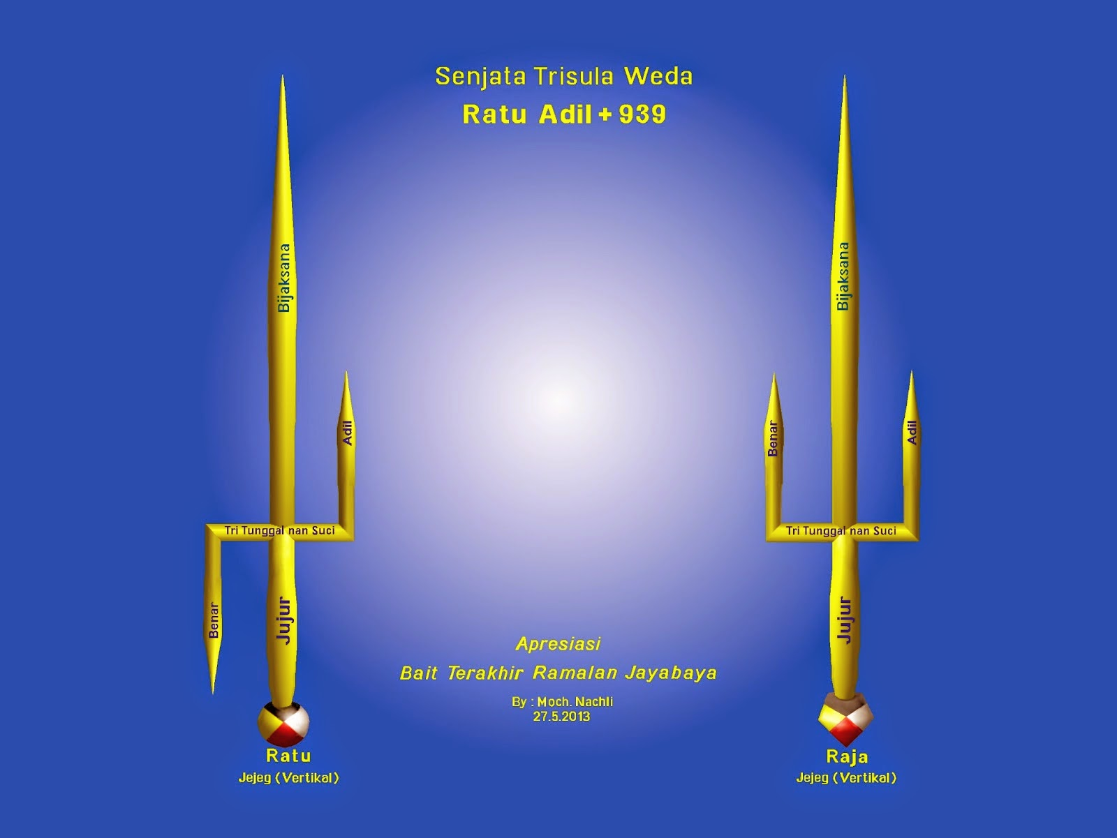 Trisula Weda, Ratu Adil