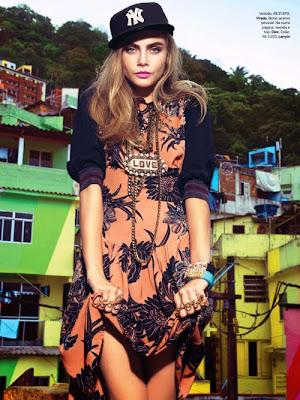 Cara Delevingnea HQ Pictures Vogue Brazil Magzine Photoshoot February 2014