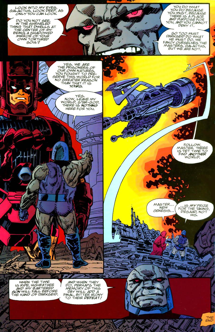 Darkseid Vs Doomsday Injustice Traffic Club