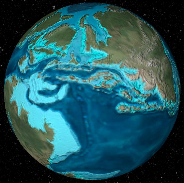 земля миллион лет назад