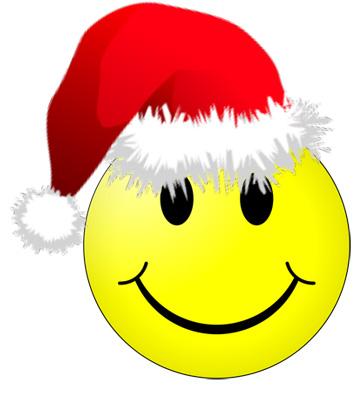 christmas smiley