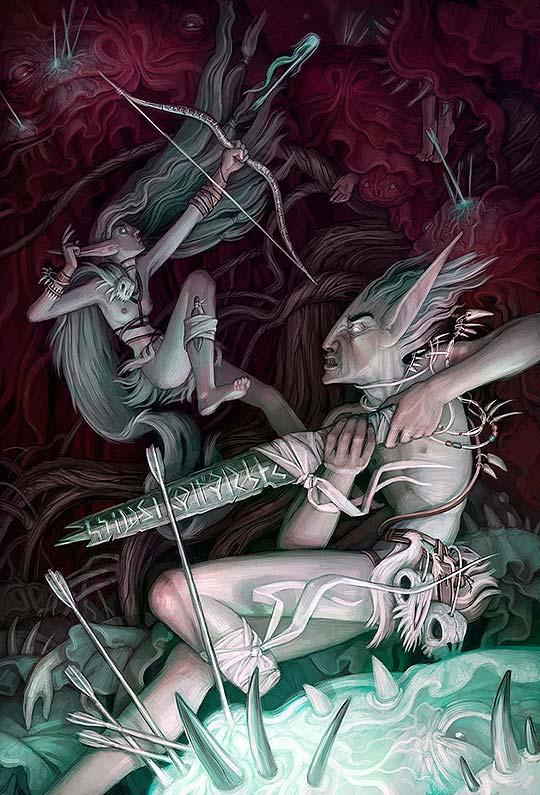 Destacado. Arte digital y talento de Alyssa Ann Menold