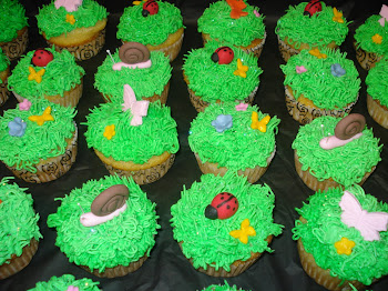 Green Garden Cupcakes