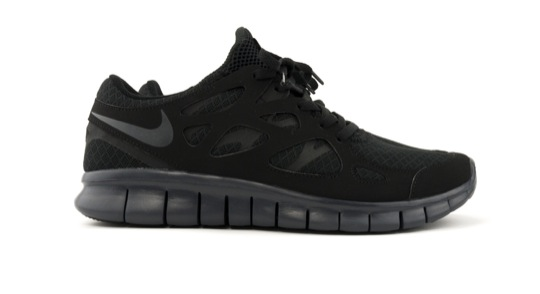 2011 12 Nike Fallwinter 2011 Free Run 2 Nike Free Run 4 All Black
