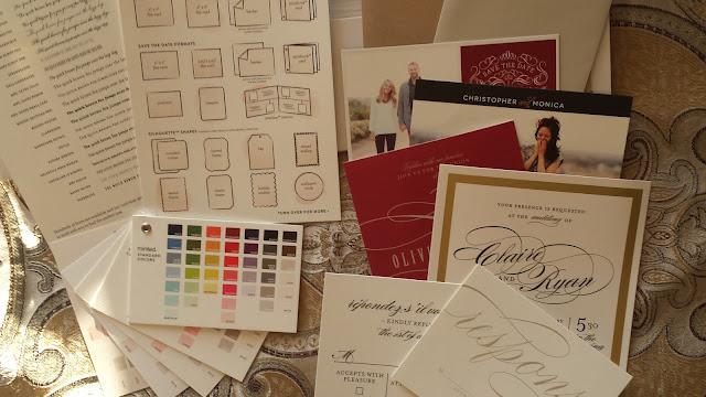 minted wedding samples