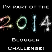 2014 Blogger challenge