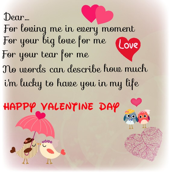Letter To My Mom On Valentine S Day
